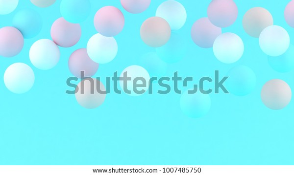 3d bubbles spheres background abstract 600w 1007485750