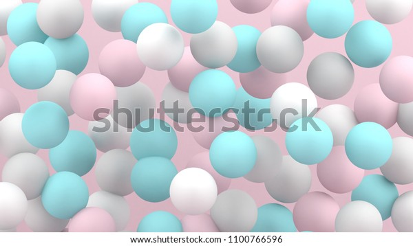 3d bubbles spheres background abstract 600w 1100766596