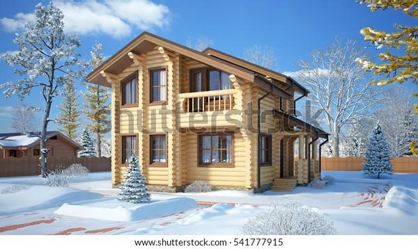 3D building, house project