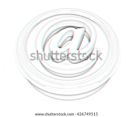 Royalty Free Stock Illustration Of 3 D Button Email Internet Push On