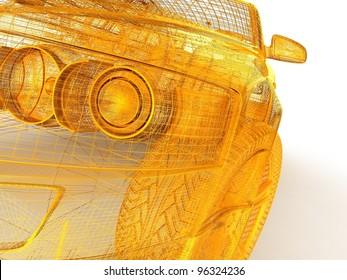 3D car design
