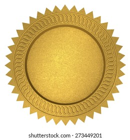 3D. Certificate, Seal Stamper, Award.