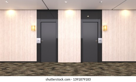 3D CG rendering of Entrance