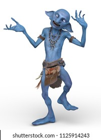 3D CG rendering of a goblin