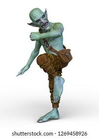 3D CG rendering of goblin