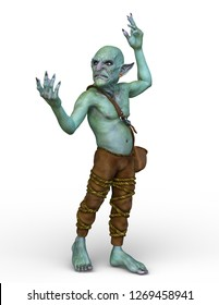 3D CG rendering of goblin