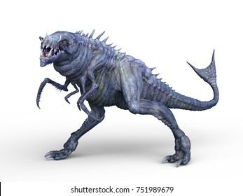 3D CG rendering of a monster