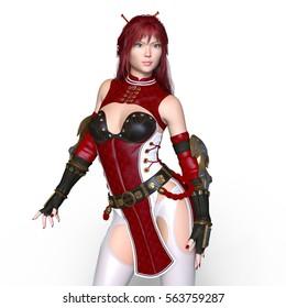 Фотообои 3D CG rendering of a super woman