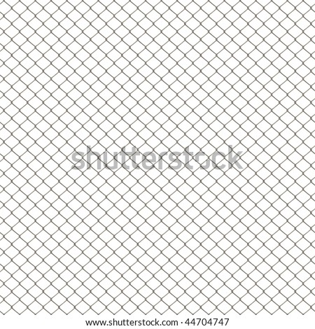 Chain Link Fence Texture In 3d Chain Link Fence Texture Isolated Over White This Tiles Seamlessly As Pattern Chain Link Fence Texture Isolated Stock Illustration 44704747