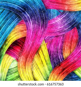 3d colorful  abstract watercolor background design