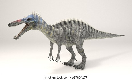 3D Computer rendering illustration of Suchomimus
