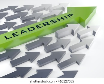 3d Creative abstract business leadership background.