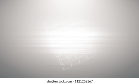 Large Image White Lines Abstract Motion Stock Photo (Edit