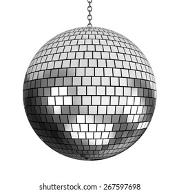 3D. Disco Ball, Mirrorball, Party.