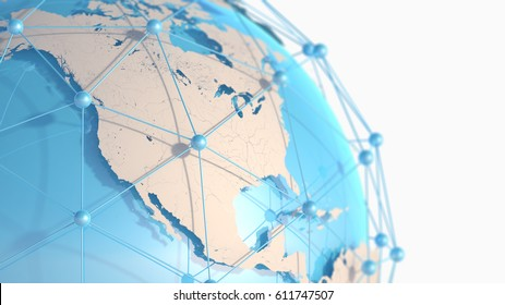 3D Earth illustration