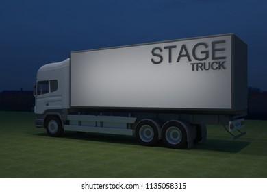 Stage trucking