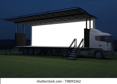 Truck Stage Images, Stock Photos & Vectors | Shutterstock