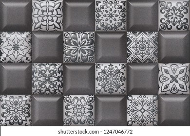 3d facing ceramic digital tiles, wallpapers & backgrounds.