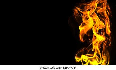 3d Fire flames
