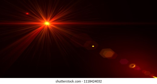 3D Flare Light Photo For Photoshop