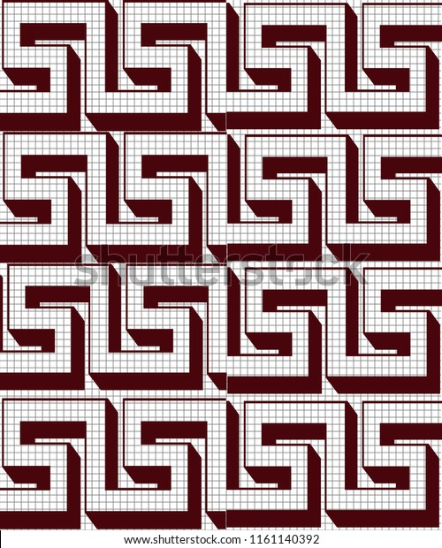 3d Floor Tiles 3d Wall Tiles Stock Illustration 1161140392