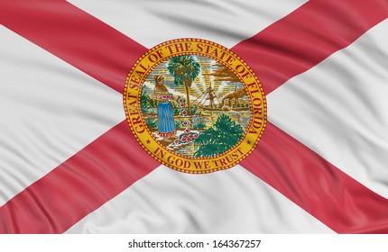 3D Florida Flag
