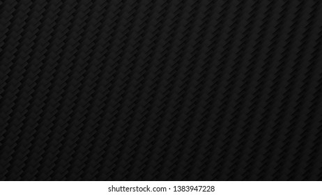 3D generated dark charcoal colored pattern