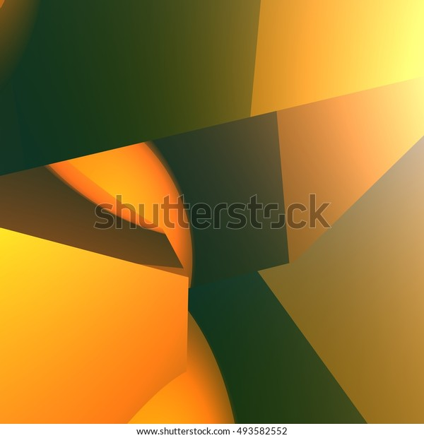 3d Gold Abstract Wallpaper Backgroundstextures Abstract
