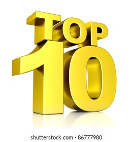 3d golden Top 10