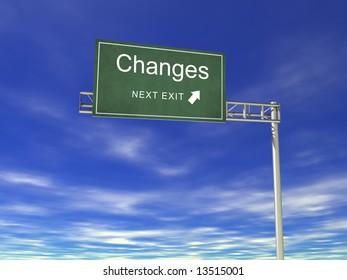 3D Hightway Billboard: Changes
