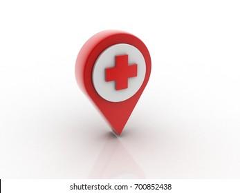 3d hospital navigation planning, concept