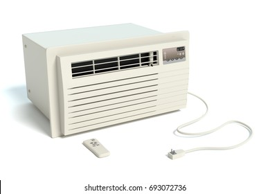 3d illustration of an air conditioner