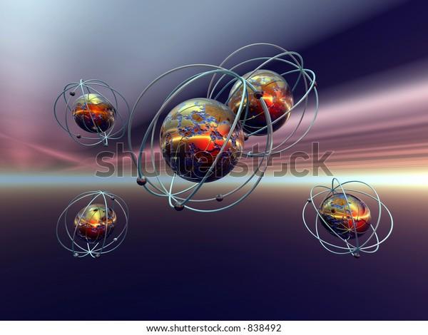 Physik desktop hintergrund