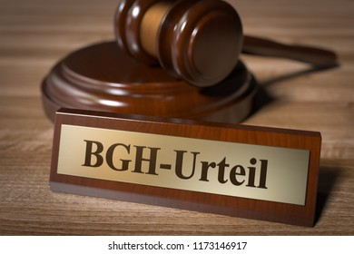 3D illustration BGH judgment