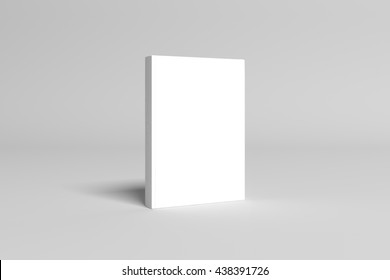 3D Illustration of blank Book Cover Mock-up