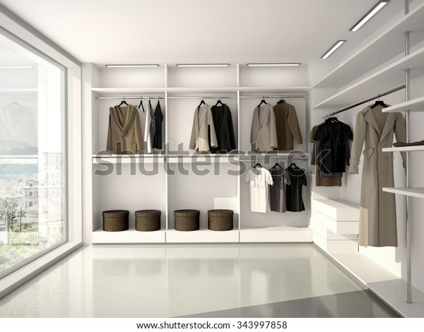 3d illustration of bright, comfortable, modern clothes