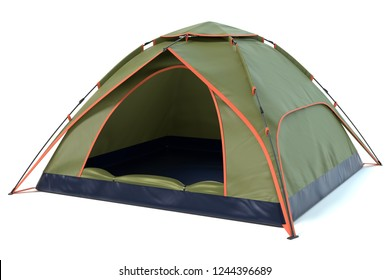 3d illustration of a camping tent