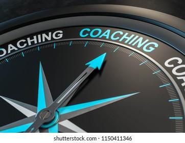 3D illustration coaching