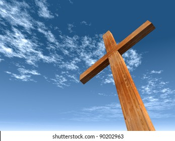 3d Christian Cross Images Stock Photos Vectors Shutterstock