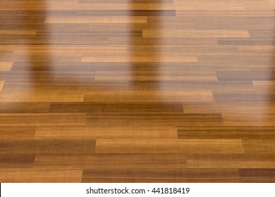 3d illustration of dark wood parquet floor, background