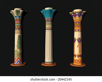 Free Egyptian Architecture Clipart, 1 page of free to use images