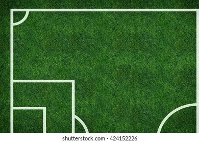3d illustration, Football championship background