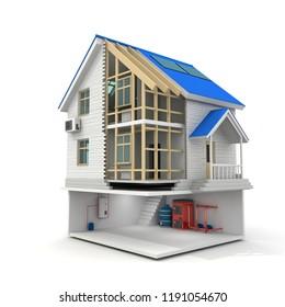 Haus Isolieren Stock Illustrations Images Vectors Shutterstock
