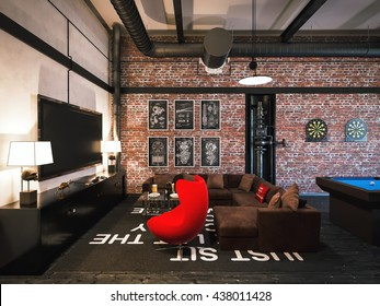 Stupendous Game Room Images Stock Photos Vectors Shutterstock Download Free Architecture Designs Scobabritishbridgeorg