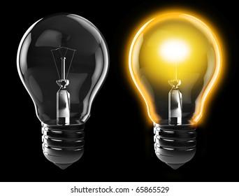 light bulb on off images stock photos vectors shutterstock https www shutterstock com image illustration 3d illustration light bulb power on 65865529