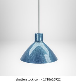 3d illustration of a modern lamp