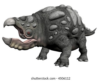 3D Illustration of a monster