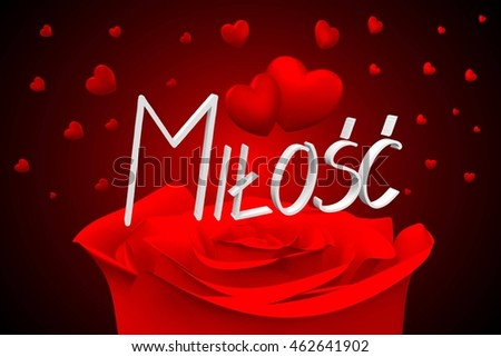 3 D Illustration 3 D Rendering Rose Hearts Stock Illustration
