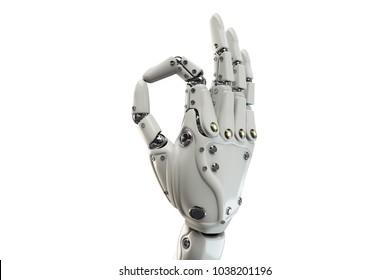 Robotic Hand Images, Stock Photos & Vectors   Shutterstock