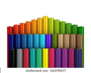 graphic regarding Printable Vinyl Roll called Printing Vinyl Rolls Inventory Examples, Pictures Vectors